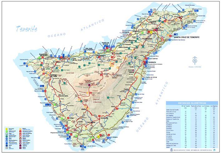 Isola Tenerife Cartina.Wonderful Tenerife Benvenuti A Wonderful Tenerife